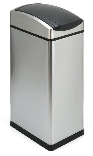 Touch Bin 45 Liter.Abfallbehalter Touch Bin Rechteckig Simplehuman 45 Liter Farbe