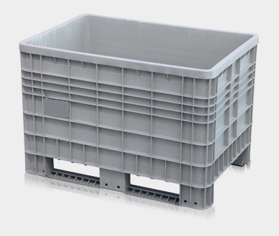 gro volumenbeh lter transportbox lagerbox cth1 fd mit 4 f sse und deckel 1200x800x800mm farbe. Black Bedroom Furniture Sets. Home Design Ideas