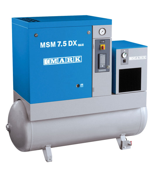 mark schraubenkompressor msm maxi 11 270 df 400v 11kw 10bar 270l 1310l min fj tec. Black Bedroom Furniture Sets. Home Design Ideas